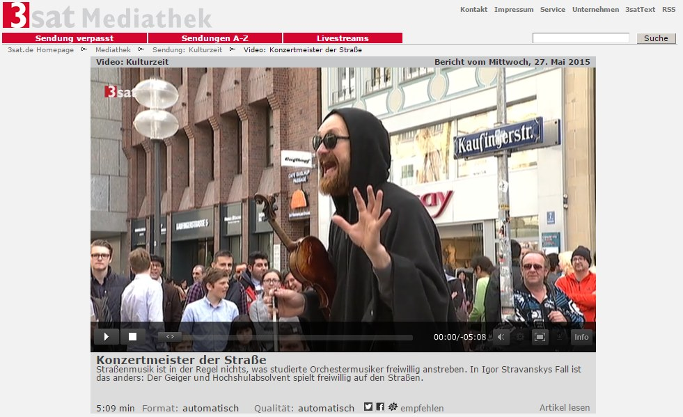 igor singing at 3sat-kulturzeit-konnexion-balkon-on-tv